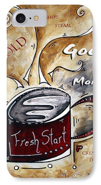 Fresh Start By Madart Phone Case by Megan Duncanson