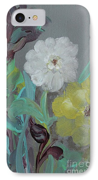 IPhone Case featuring the painting Fresh Start  by Robin Maria Pedrero