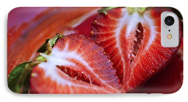 Fresh Strawberries Phone Case by Ray Laskowitz - Printscapes