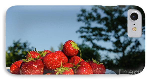 IPhone Case featuring the photograph Fresh Strawberriesl by Kennerth and Birgitta Kullman