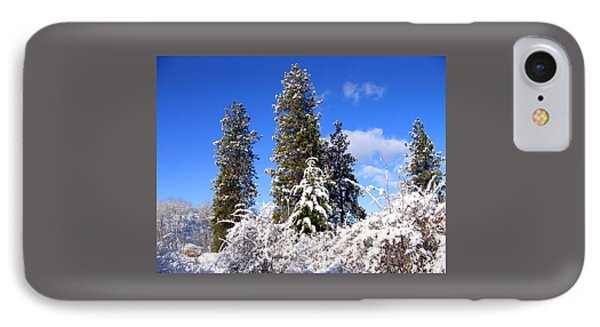 IPhone Case featuring the photograph Fresh Winter Solitude by Will Borden