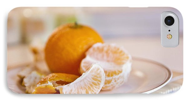 IPhone Case featuring the photograph Freshly Peeled Citrus by Cindy Garber Iverson