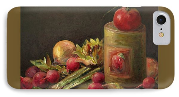 Freshly Picked IPhone Case by Mary Wolf