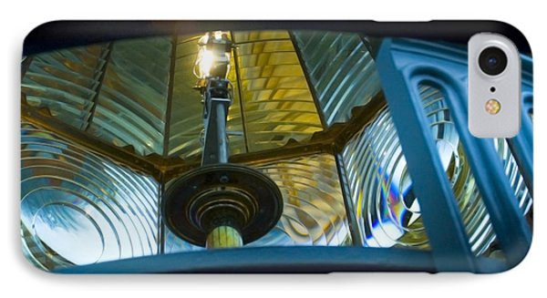 IPhone 7 Case featuring the photograph Fresnel Lens Heceta Head Lighthouse by Yulia Kazansky