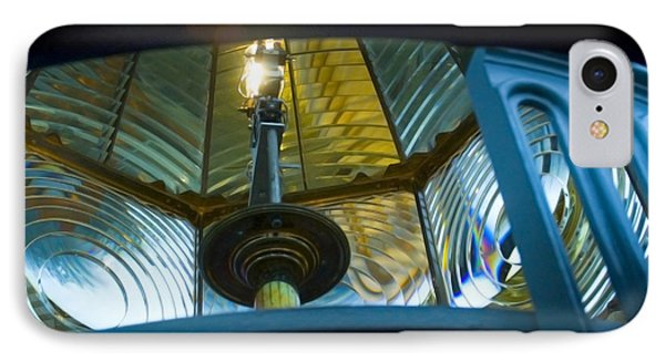 IPhone Case featuring the photograph Fresnel Lens Heceta Head Lighthouse by Yulia Kazansky