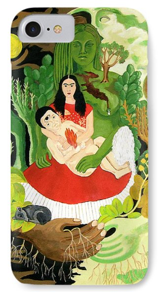 Frida And Diego Phone Case by Stephanie Moore