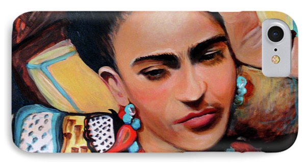 Frida IPhone Case by Jan VonBokel