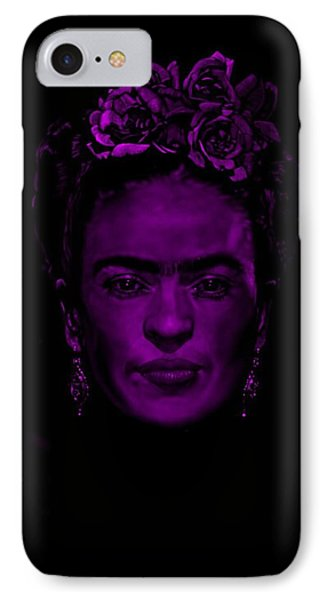Frida Kahlo  IPhone Case by Brian Broadway