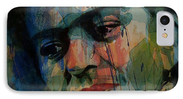 Frida Kahlo Colourful Icon  IPhone Case by Paul Lovering