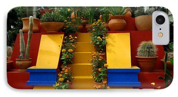 Frida Kahlo Exhibit At New York Botanic Garden IPhone Case by Diane Lent