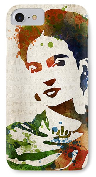 Frida Kahlo IPhone Case by Mihaela Pater