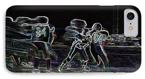 Friday Night Under The Lights IPhone Case by Chris Thomas