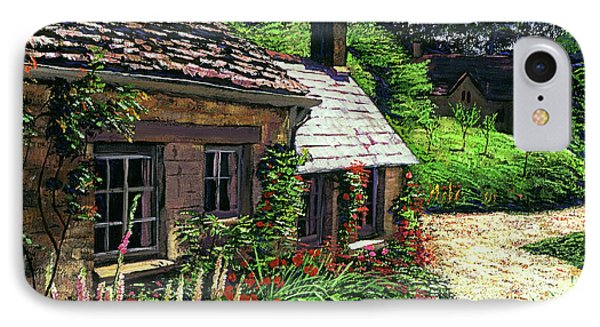 Friendly Cottage IPhone Case by David Lloyd Glover