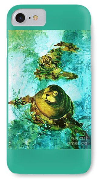Friendly Persuasion IPhone Case