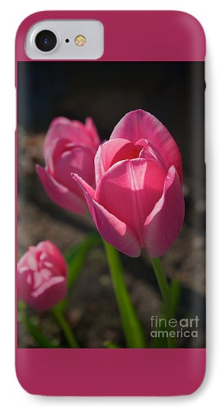Friends Are Flowers In The Garden Of Life IPhone Case by Frank J Casella