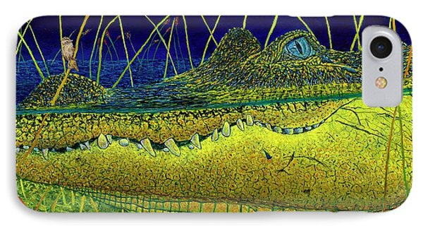 Swamp Gathering Phone Case by David Joyner