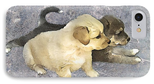 Friends Forever  Phone Case by Svetlana Sewell