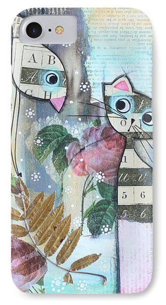Friends Phone Case by Johanna Virtanen