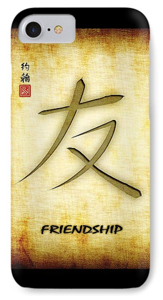 Friendship  IPhone Case by John Wills