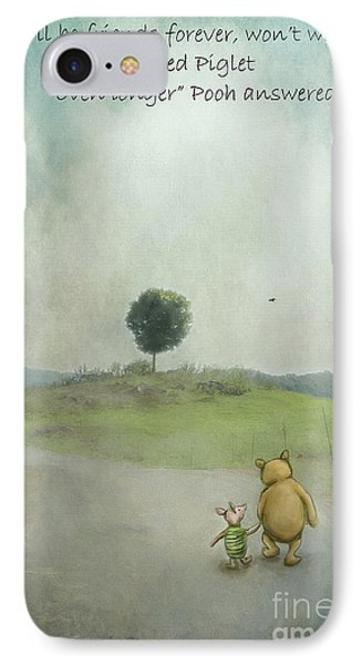 Friendship IPhone Case by Kathy Russell