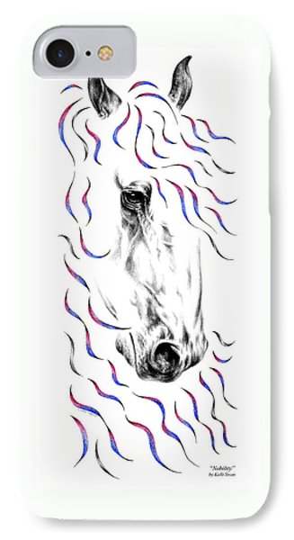 Friesian Horse Nobility IPhone Case by Kelli Swan
