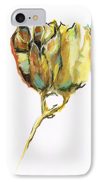 IPhone Case featuring the painting Fritillaria by Frances Marino