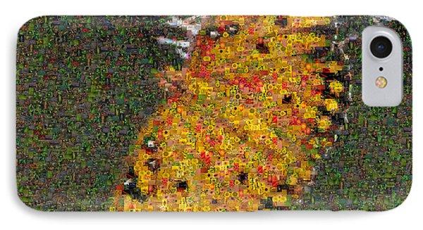 Fritillary Butterfly Mosaic Phone Case by Scott Camazine