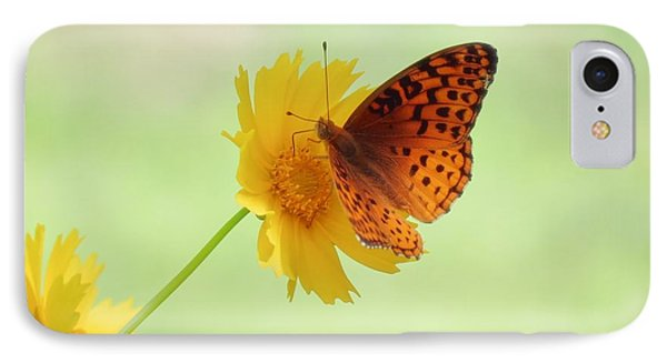 Fritillary Fun IPhone Case