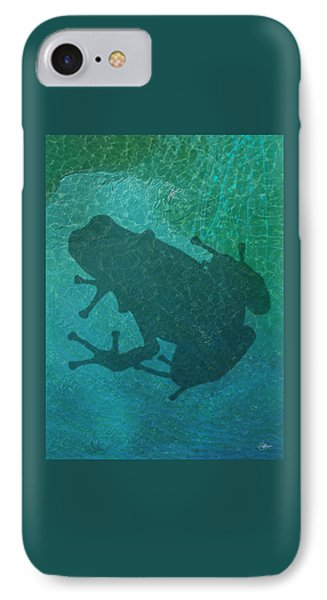 Frog  IPhone Case by Quim Abella