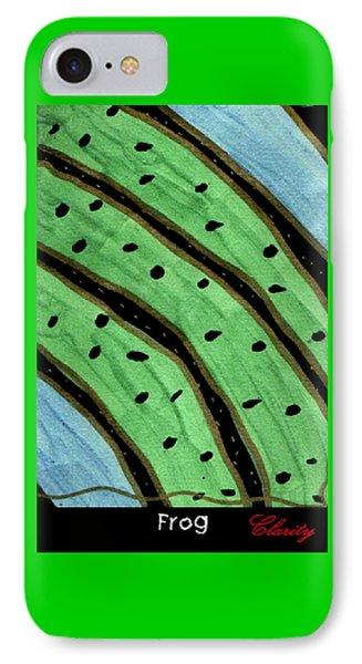 Frog IPhone Case by Clarity Artists