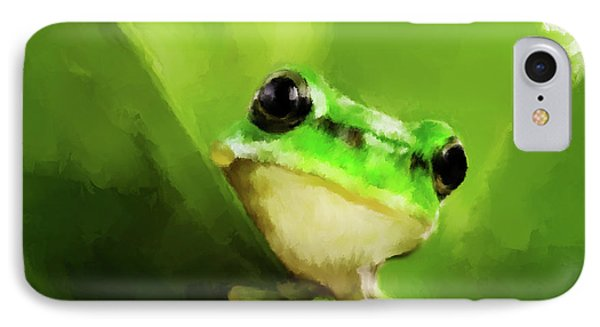 Frog IPhone Case by Michael Greenaway