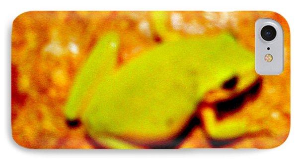 Frog On The Wall Phone Case by Debra     Vatalaro