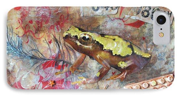 Frog Prince Phone Case by Jennifer Kelly