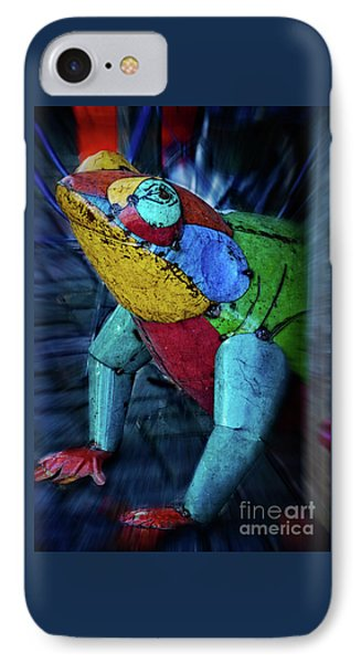 IPhone Case featuring the photograph Frog Prince by Mary Machare