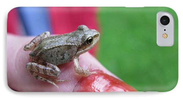 IPhone Case featuring the photograph Frog The Prince by Ausra Huntington nee Paulauskaite