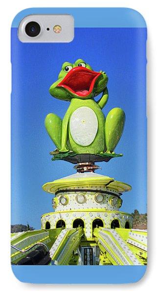 Froggy IPhone Case by Don Pedro De Gracia