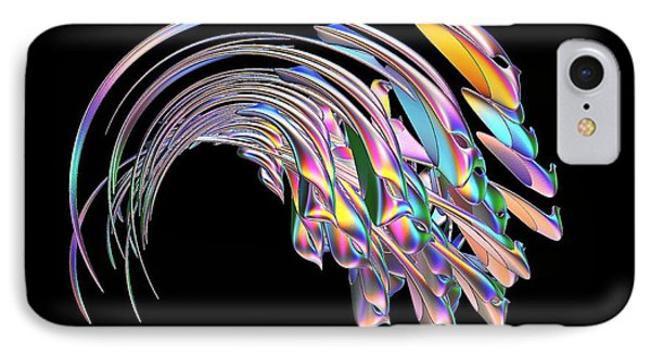 IPhone Case featuring the digital art Frolicking Fishes  by Greg Moores