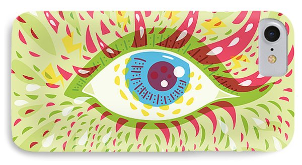 From Looking Psychedelic Eye IPhone Case