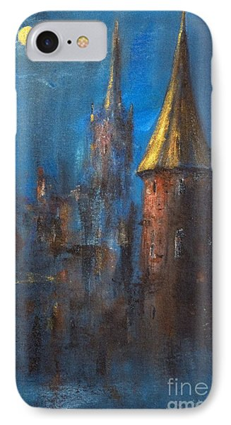 IPhone Case featuring the painting From Medieval Times by Arturas Slapsys