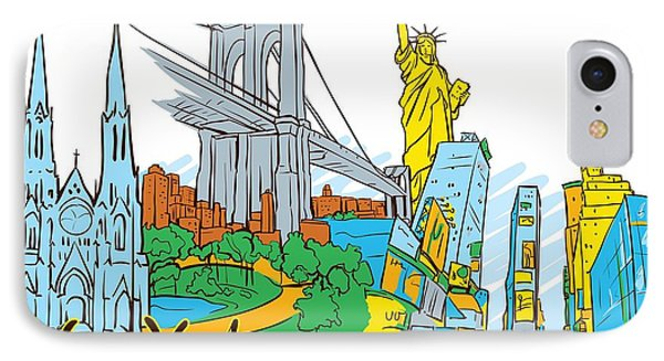 From Old To New York Phone Case by Stanley Mathis