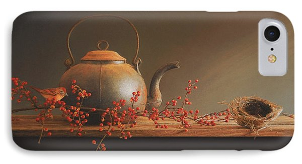 From The Hearth IPhone Case by Barbara Groff