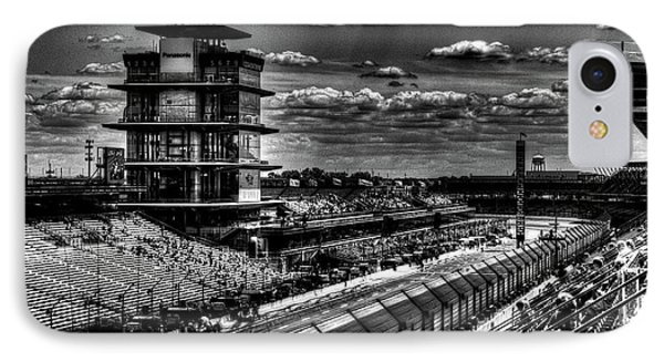 From The Hulman Suites  IPhone Case by Josh Williams