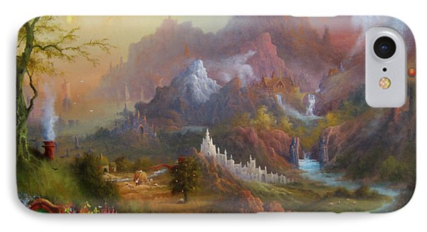 From The Shire To The Sea IPhone Case by Joe  Gilronan