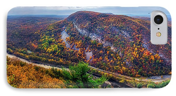 IPhone Case featuring the photograph From The Top Of Mount Tammany by Mark Papke