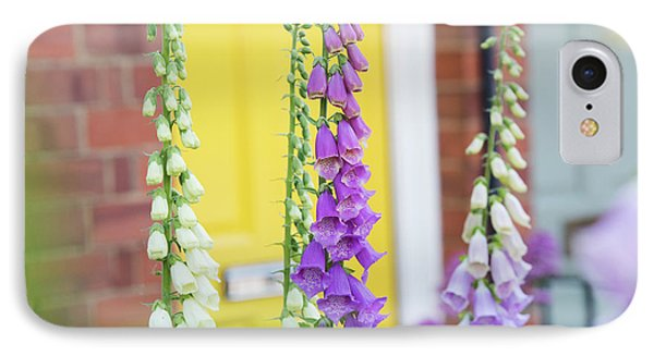 Front Garden Foxgloves IPhone Case