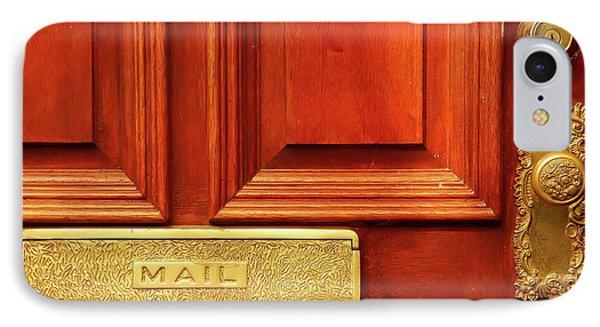 Front Door French Quarter IPhone Case by KG Thienemann