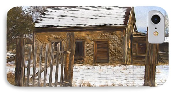 Pioneer Home Painterly Impression IPhone Case