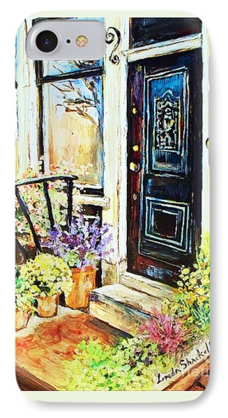 Front Porch IPhone Case by Linda Shackelford