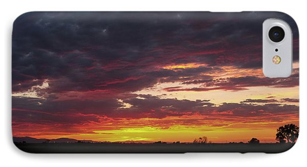 IPhone Case featuring the photograph Front Range Sunset by Monte Stevens