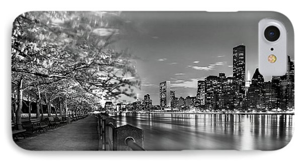 Front Row Roosevelt Island IPhone Case by Az Jackson